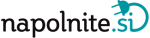 NAPOLNITE.SI polnilne postaje, rešitve za polnjenje mobilnih telefonov in tablic Logo