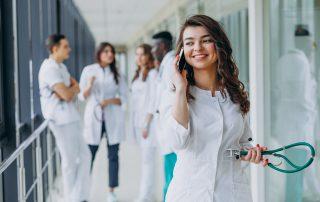 Bolnišnice dezinfekcija mobilnih telefonov